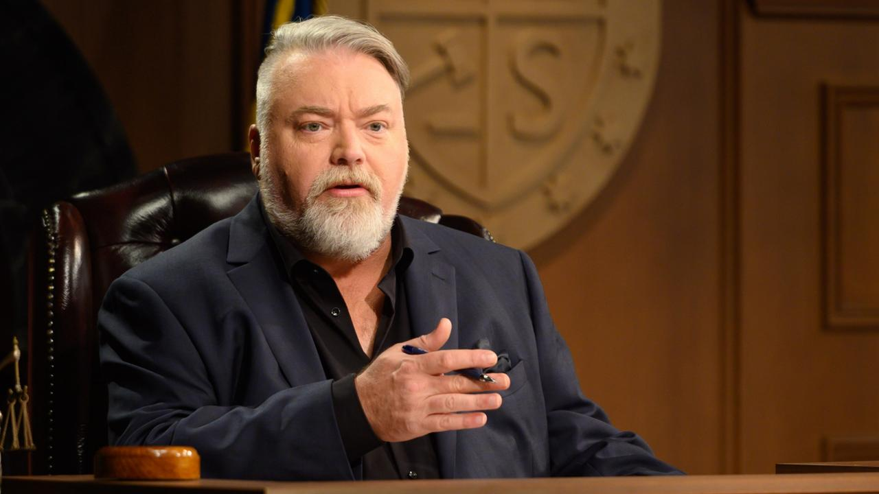 Kyle Sandilands in Trial By Kyle, which starts soon on Channel 10.