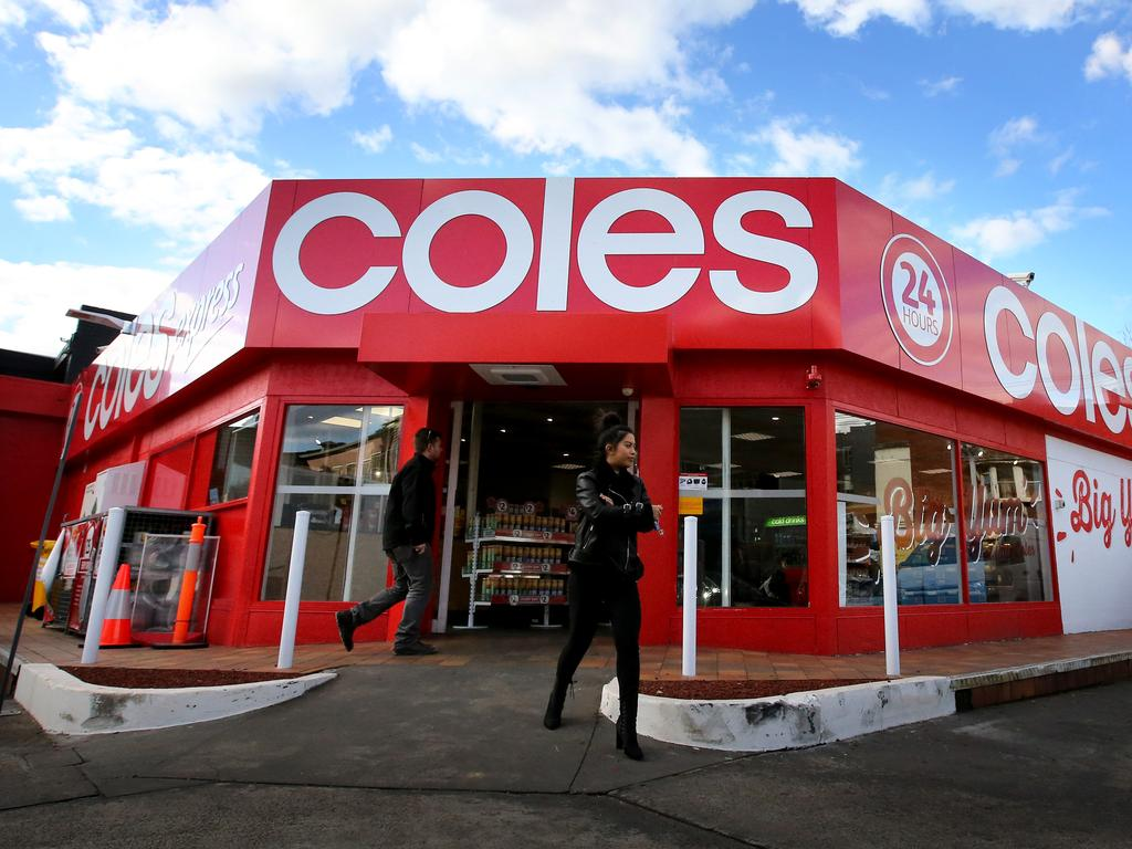 Coles is changing its offering for shoppers. Picture: Stuart McEvoy for The Australian.
