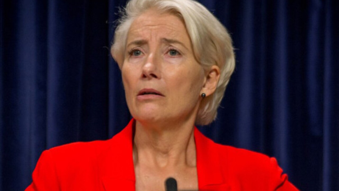 Emma Thompson is populist politician Vivienne Rooke.