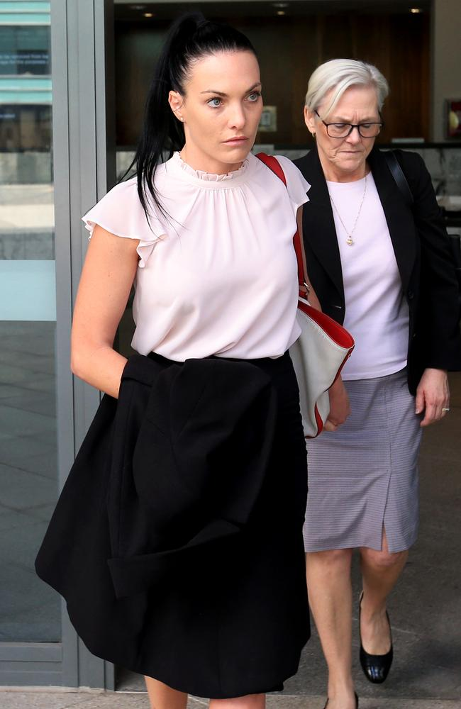 Brook's legal team appealed the severity of her sentence. Picture: Damian Shaw