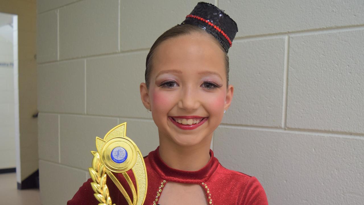Madeleine Trueman, 10, from Leisa Payne School of Dance.