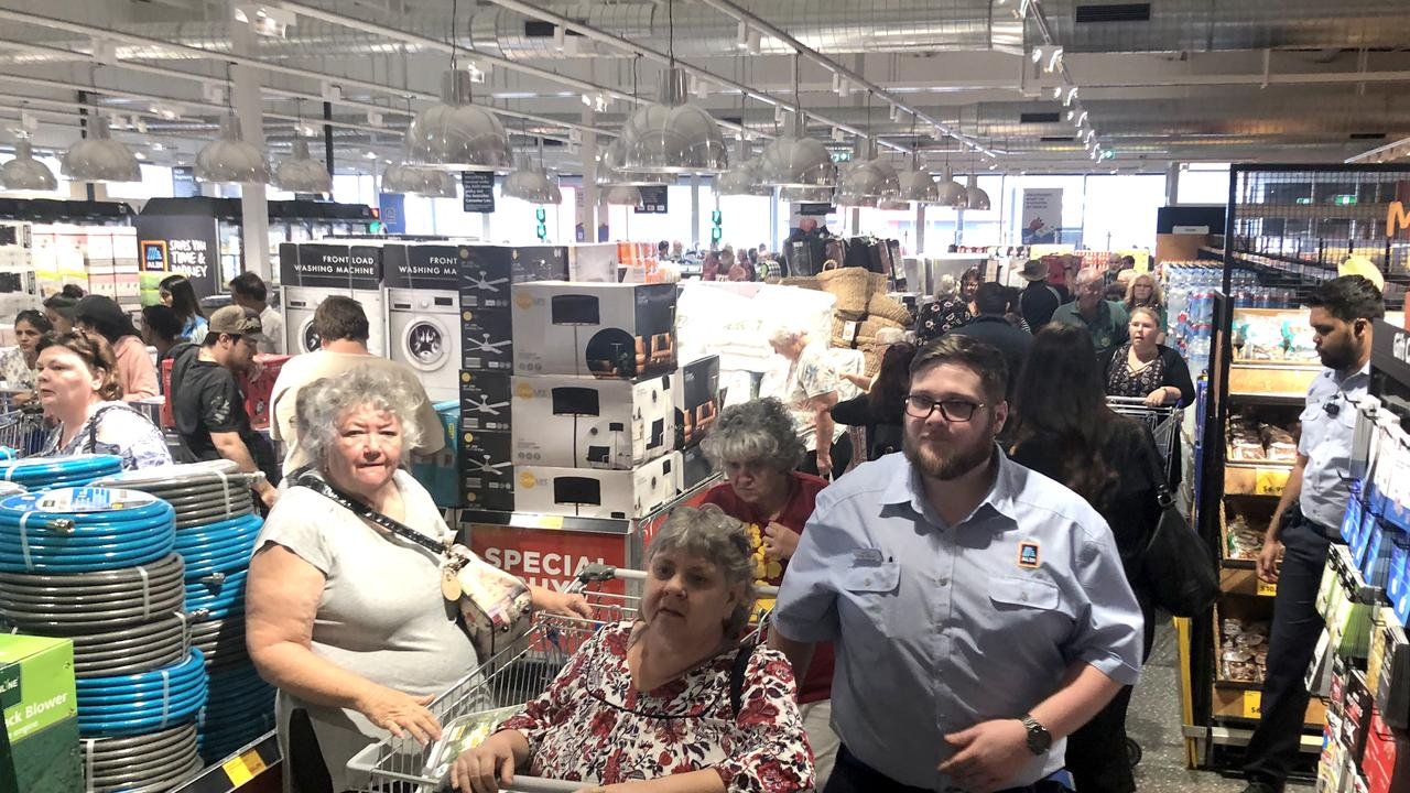 The opening of South Rockhampton's ALDI store