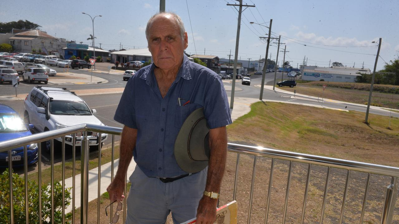 Des Messenger will be raising questions about Paradise Dam at Wallaville Hall on Thursday.