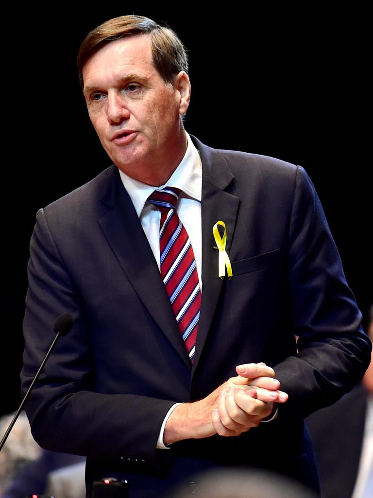Queensland Minister for Natural Resources, Mines and Energy Anthony Lynham. Picture: Alix Sweeney