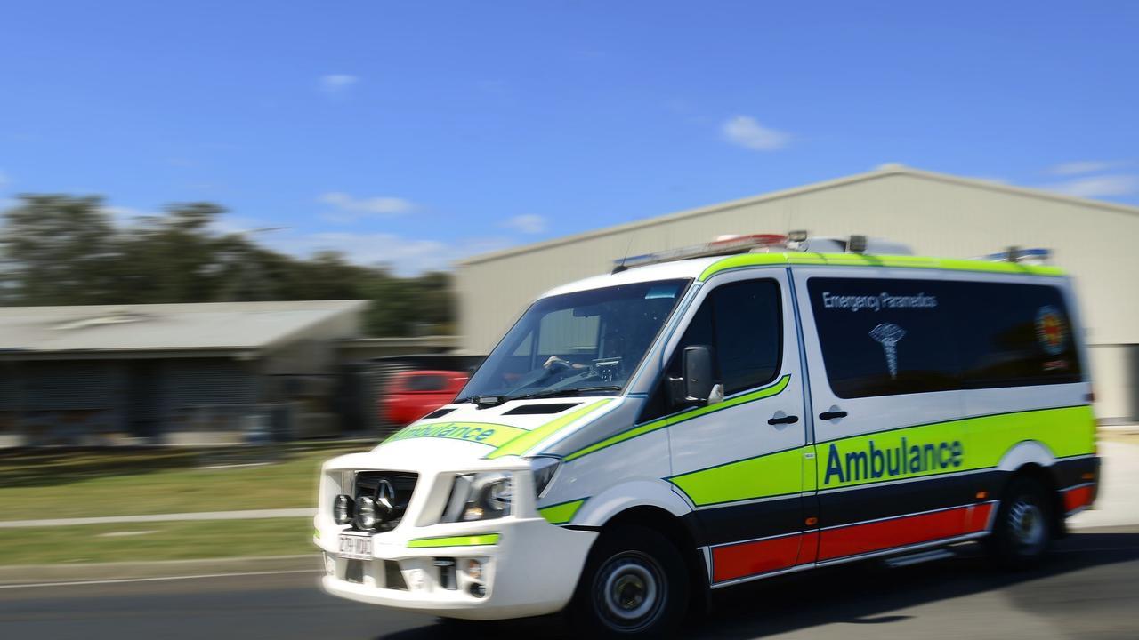 Paramedics were called to a truck rollover at Farleigh.