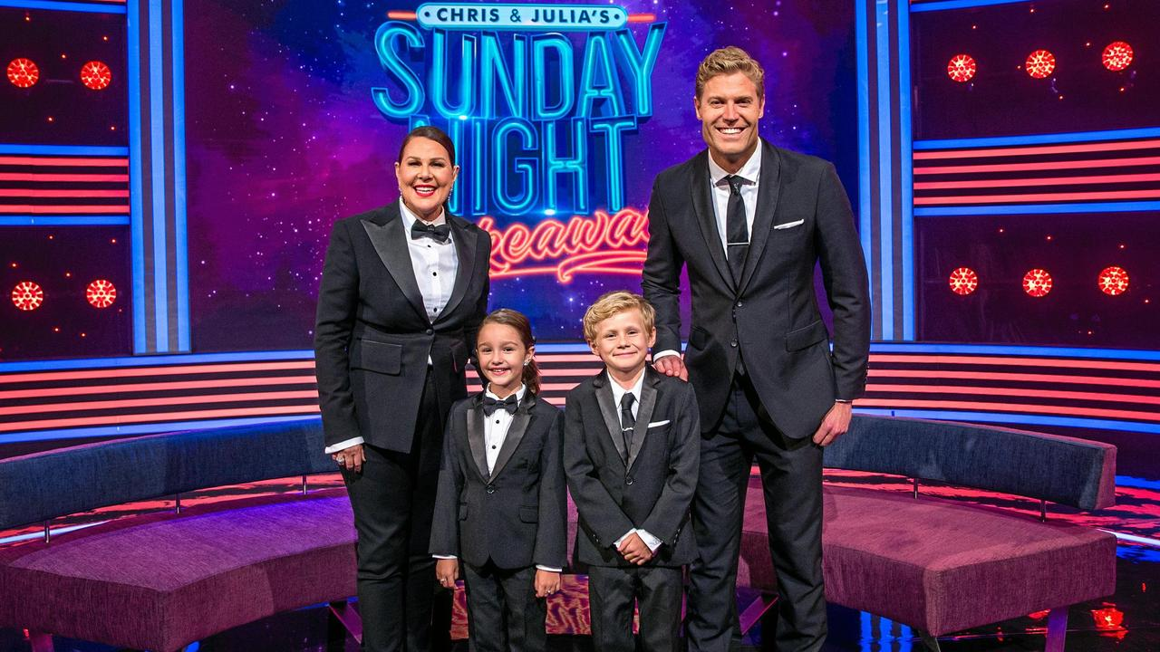 Sunday Night Takeaway was hosted by Chris Brown and Julia Morris.