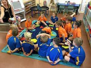 Children in Flynn say 'konnichiwa' to new language program