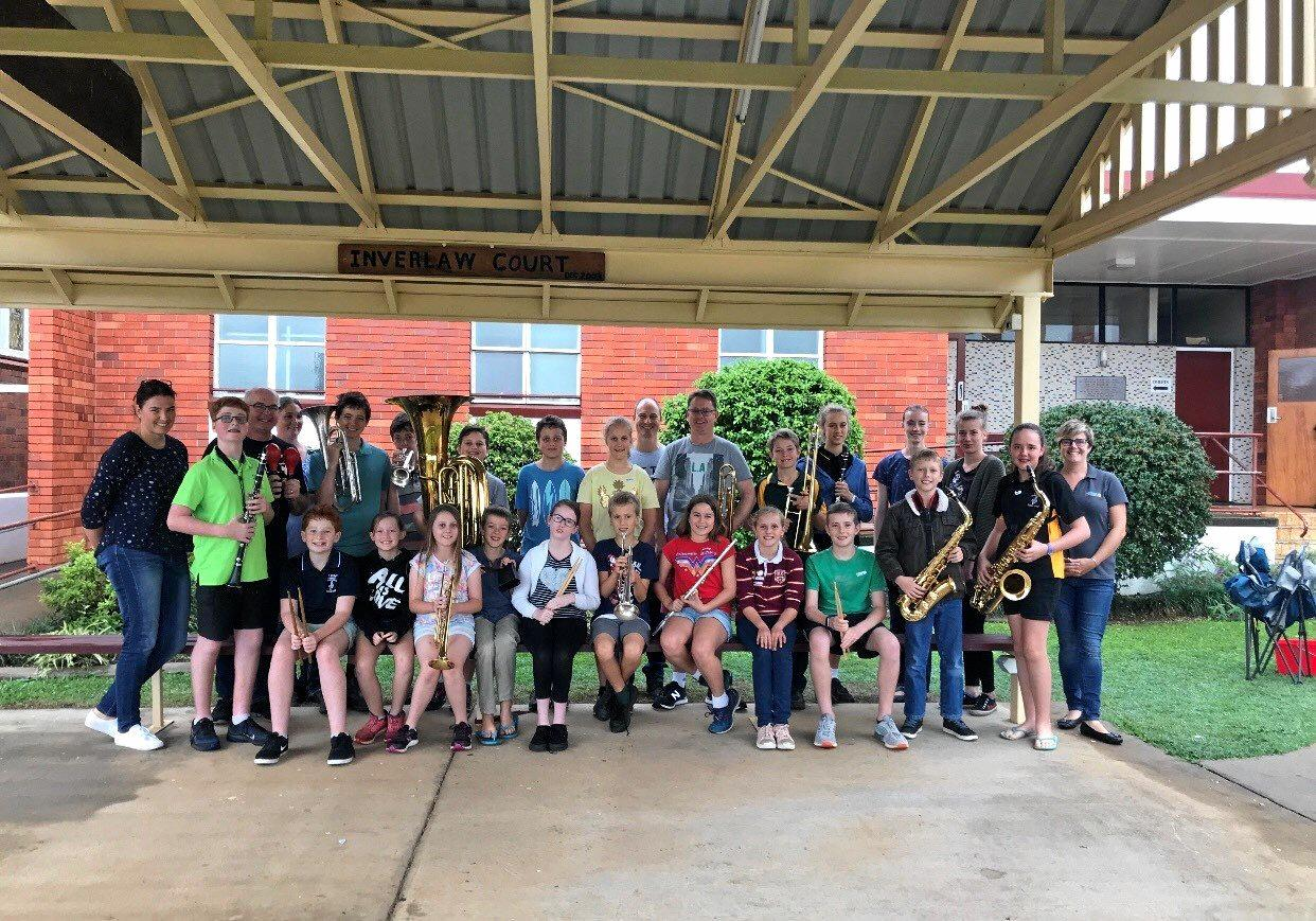 South Burnett Orchestra: families that play together stay together.