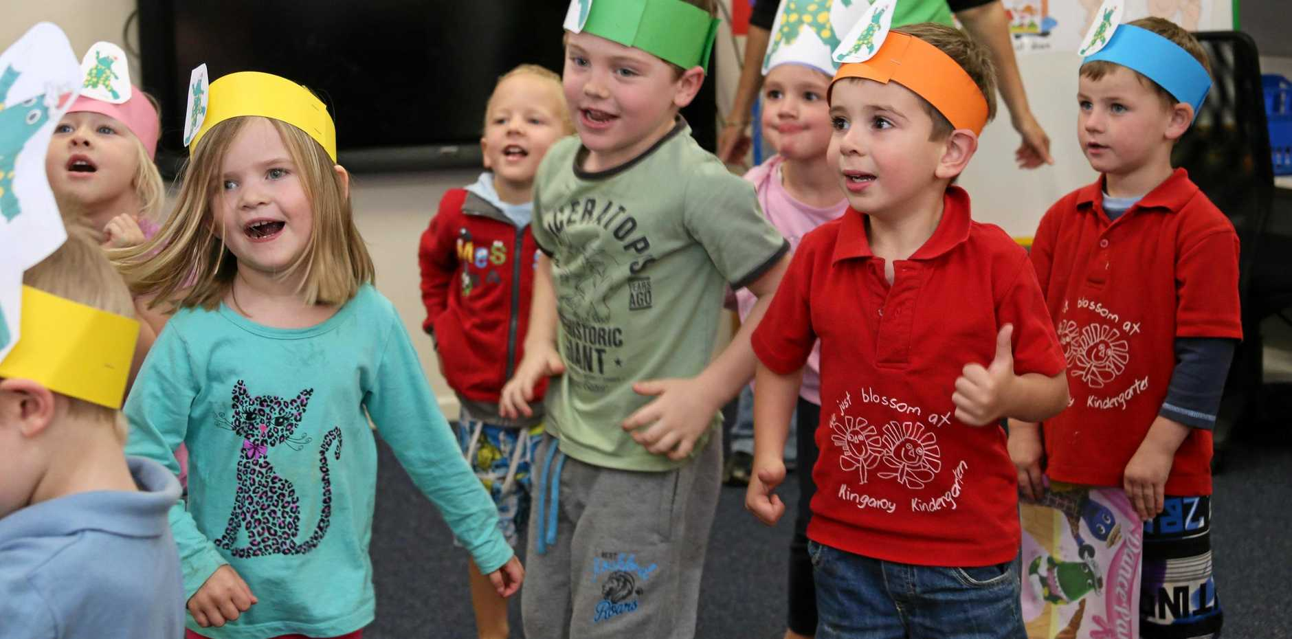Wide Bay Llew O'Brien has encouraged local preschools to apply for the Government's play-based program where young Australians can learn a foreign language.