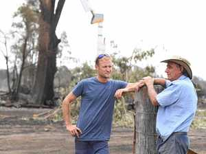 'We didn't have time to be frightened': The moment fire hit