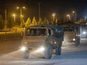 Update: Turkey ground forces invade Syria
