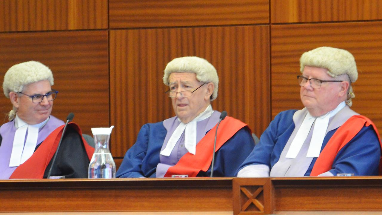 Judge Brian Harrison (centre) will be mourned by the Mackay legal community. PICTURE: JANESSA EKERT