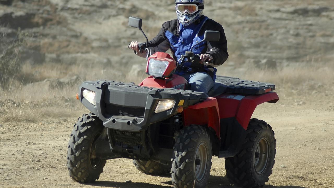 A man has died following an ATV crash in Tasmania, the third quad bike death in the state in a month.