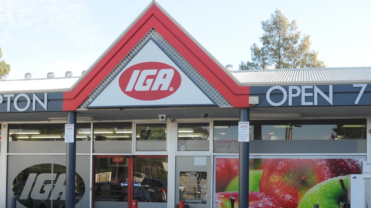 Brompton IGA supermarket store front.