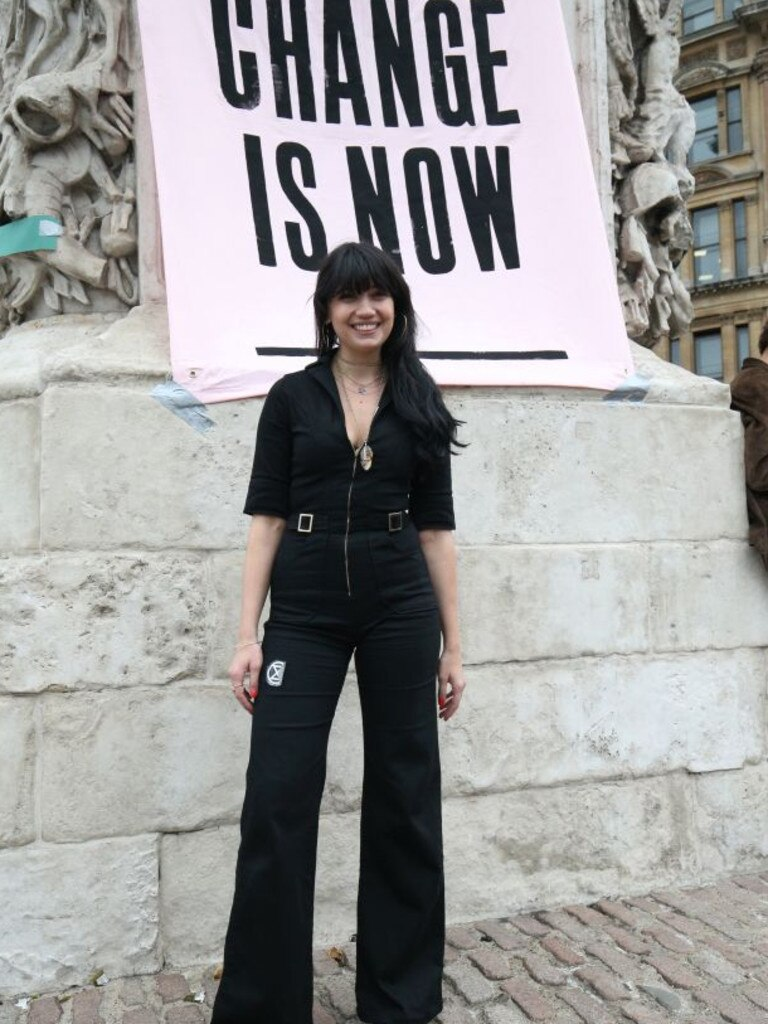 Lowe, who has taken private jets on holiday, joined the Extinction Rebellion protest this week.