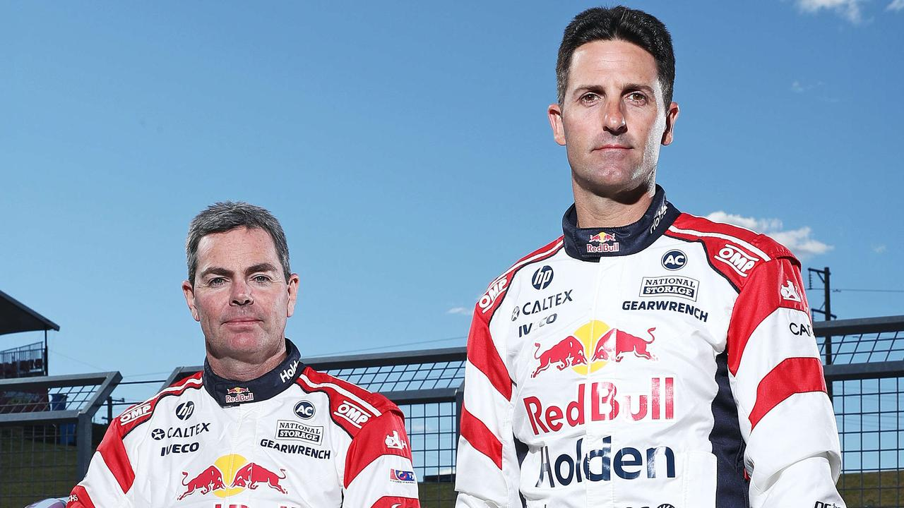 Craig Lowndes and Jamie Whincup are back together again.