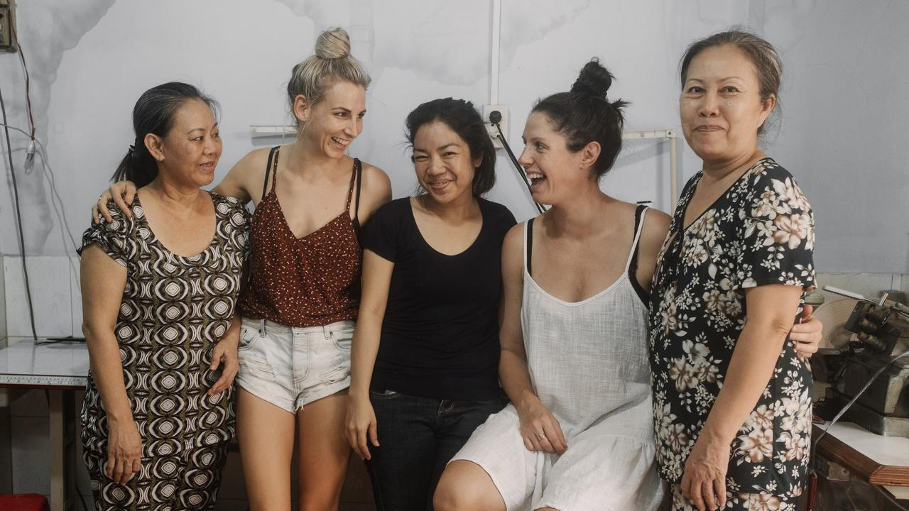 FASHION: The Travelling Kimono hope to raise enough funds to open their own eco production facility and warehouse in Vietnam, creating a space that empowers women through employment.