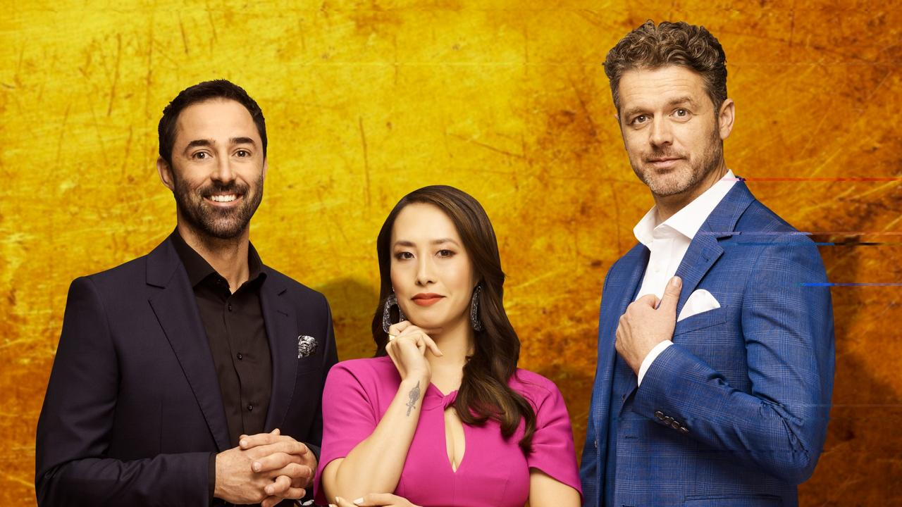 Jock Zonfrillo, Melissa Leong and Andy Allen are the new judging panel on the hugely popular reality cooking show Master Chef. Picture: Supplied
