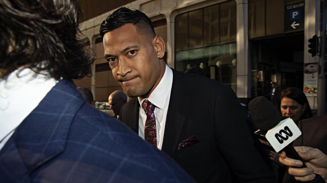 Israel Folau is claiming around $10 million in damages. Picture: Adam Yip
