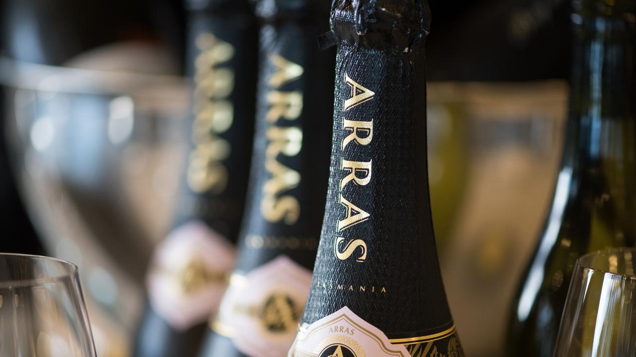 Tasmanian sparkling wine brand House of Arras makes tasty bubbles. Picture: Robert Heazlewood