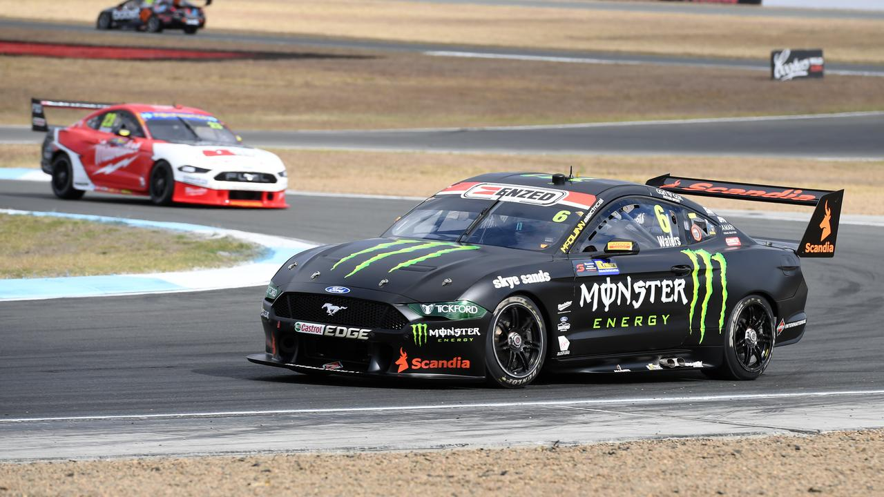 Cameron Waters during practice at the Ipswich SuperSprint at Queensland Raceway on Friday.