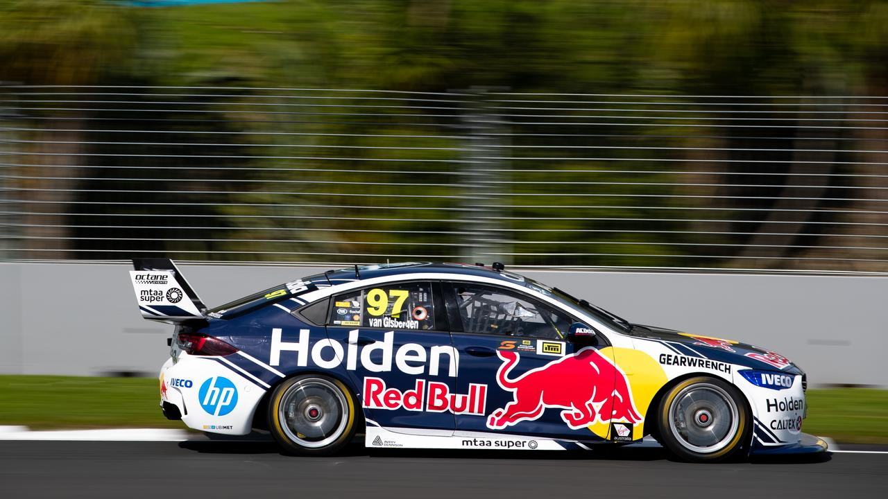 AUCKLAND, NEW ZEALAND — SEPTEMBER 14: Shane van Gisbergen drives the #97 Red Bull Holden Racing Team Holden Commodore ZB during practice for the Auckland SuperSprint Supercars Championship at Pukekohe Park Raceway on September 14, 2019 in Auckland, New Zealand. (Photo by Daniel Kalisz/Getty Images)