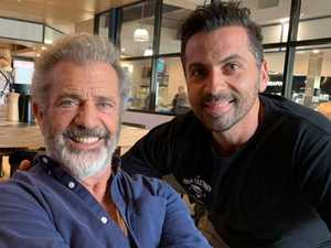 Mel Gibson spotted dining in Brisbane