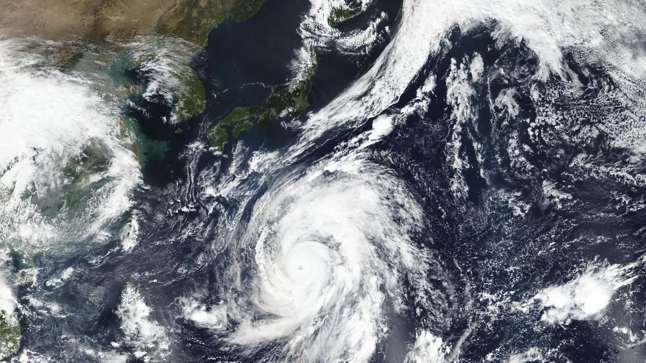 Typhoon Hagibis bears down on Japan.