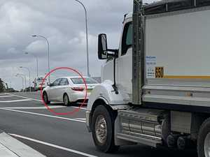 Drivers' crazy behaviour on $4b new road