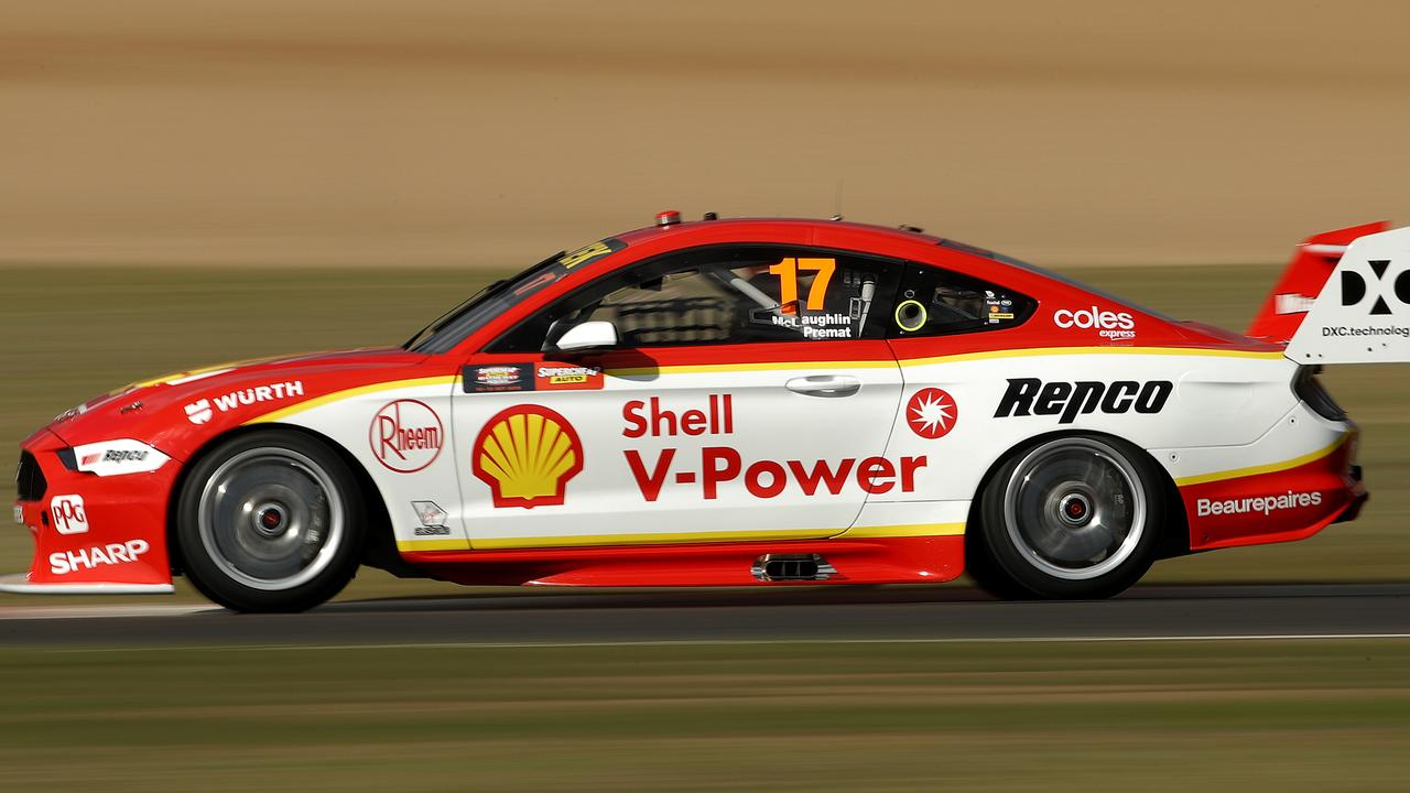Scott McLaughlin flies around Bathurst in record time.