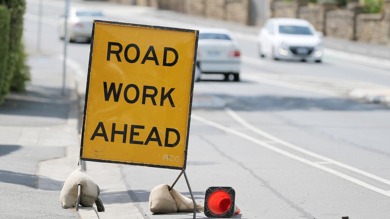 The crack sealing and asphalt rejuvenation works are set to start tomorrow.