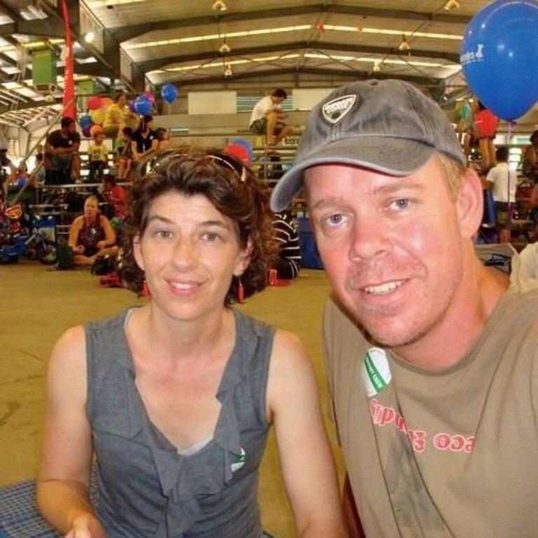 Rachael and David Sellars. Picture: Facebook