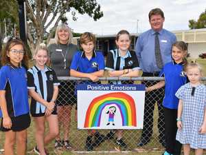 Kawungan State School mental health paintings