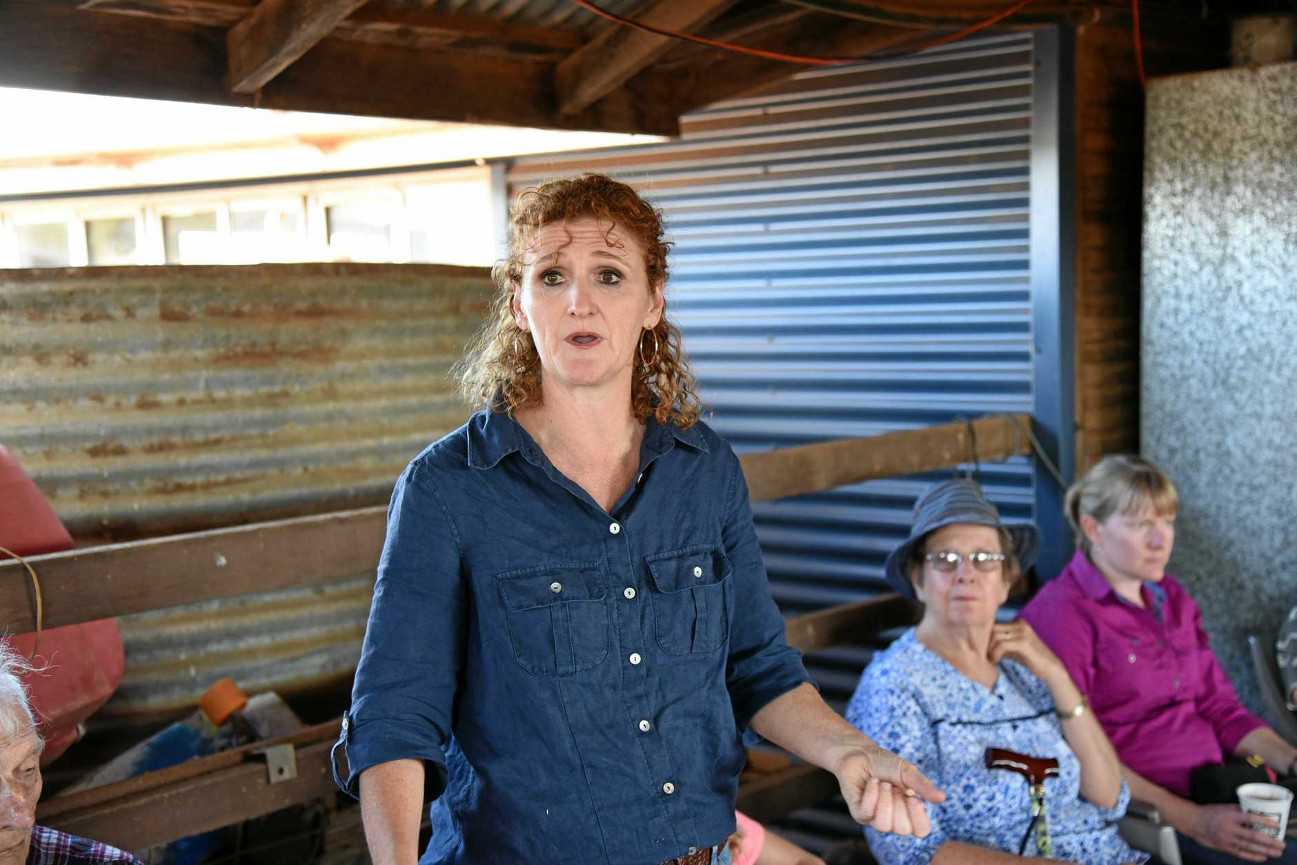 Cafe owner Judy Plath at the Nourish Cafe Bundaberg tour of Happy Valley dairy farm in Coalstoun Lakes on October 4.