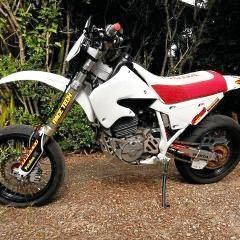 STOLEN: A XR-600 motorcycle taken from Pialba.