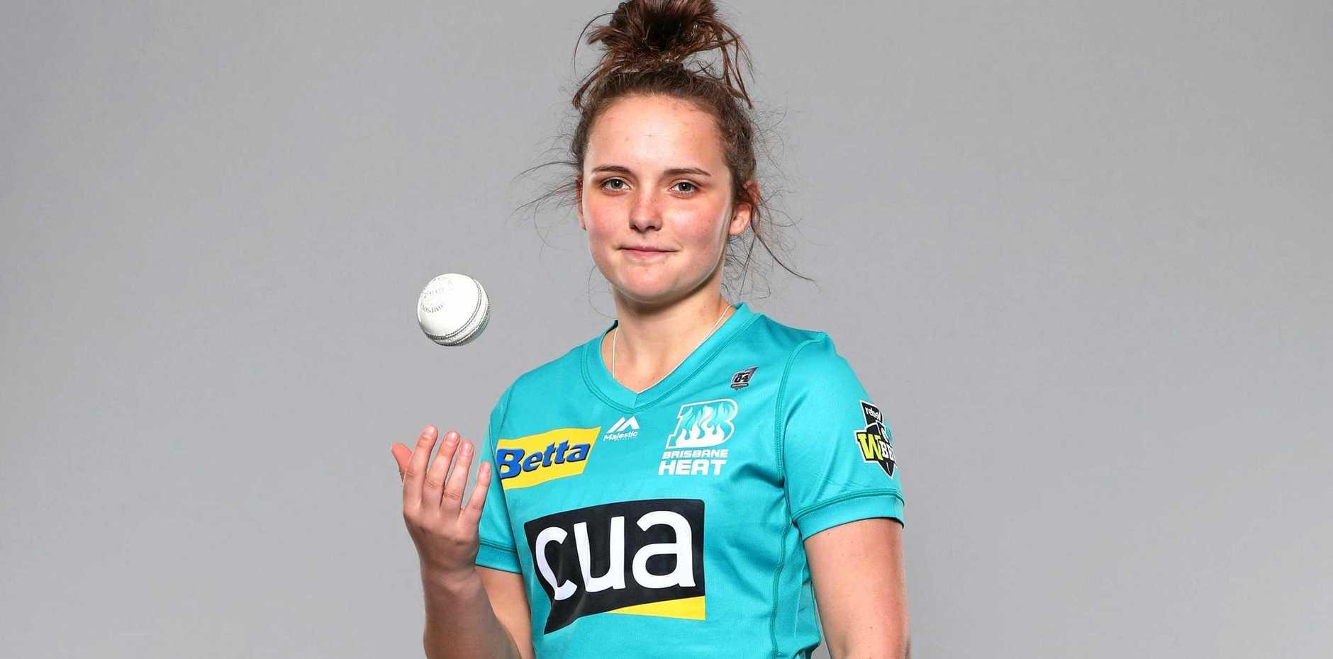 RECORD-BREAKER: Brisbane Heat international player Amelia Kerr is joining the Ipswich Logan Hornets this weekend.