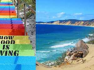 Trip Advisor names Rainbow Beach as Australia's Number 1