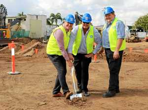 WORK AT LAST: $9.6M council admin project begins