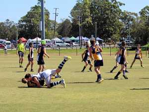 12-year-old Gympie boy already a triple premiership hero