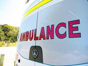 Motorcyclist taken to hospital after Howard crash