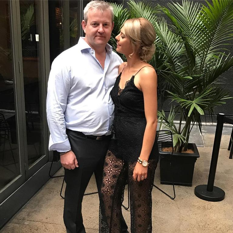 The pair were together for years before she began a relationship with her neighbour, Mr Higgins. Picture: Instagram/Ashleigh Petrie