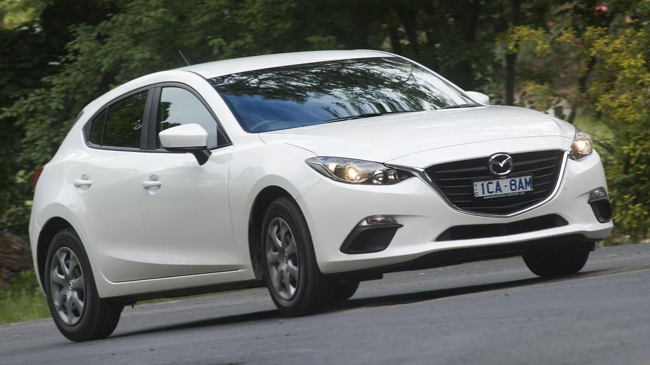 Mazda no longer sells a diesel-powered 3 small car.