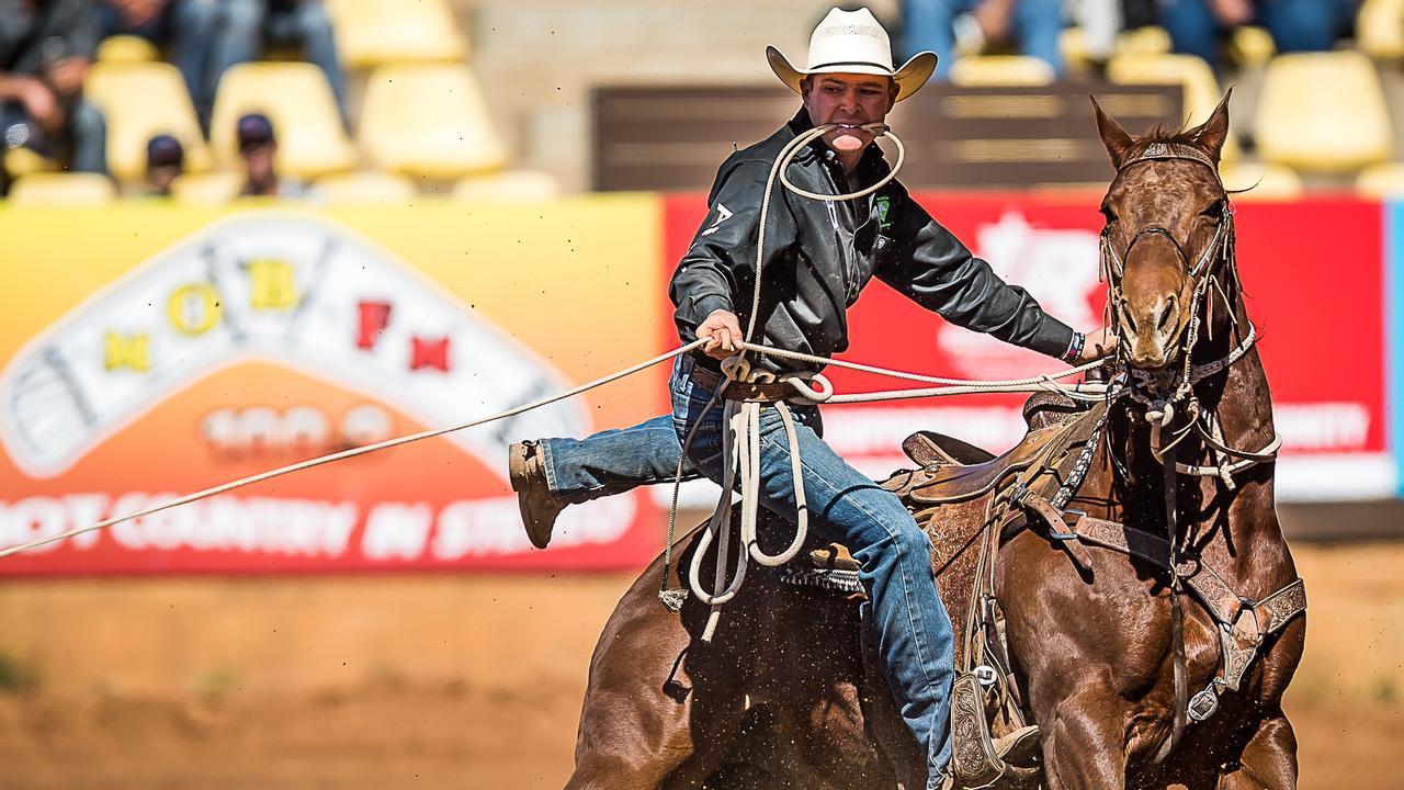 CHAMPION: Emerald Cowboy Campbell Hodson.