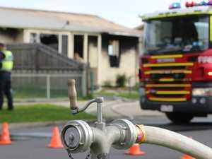 Garage fire lit after seven hours drinking