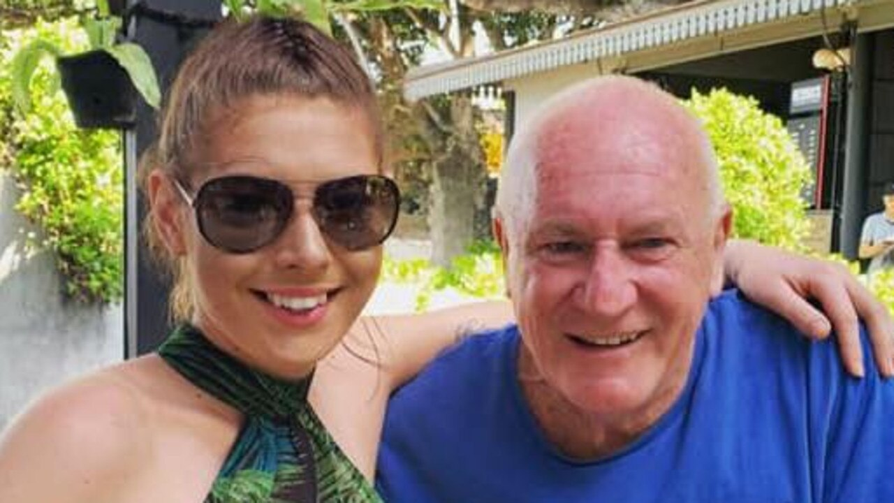 Ashleigh Petrie, 23, is engaged to 68-year-old magistrate Rodney Higgins. Picture: Facebook/Ashleigh Petrie