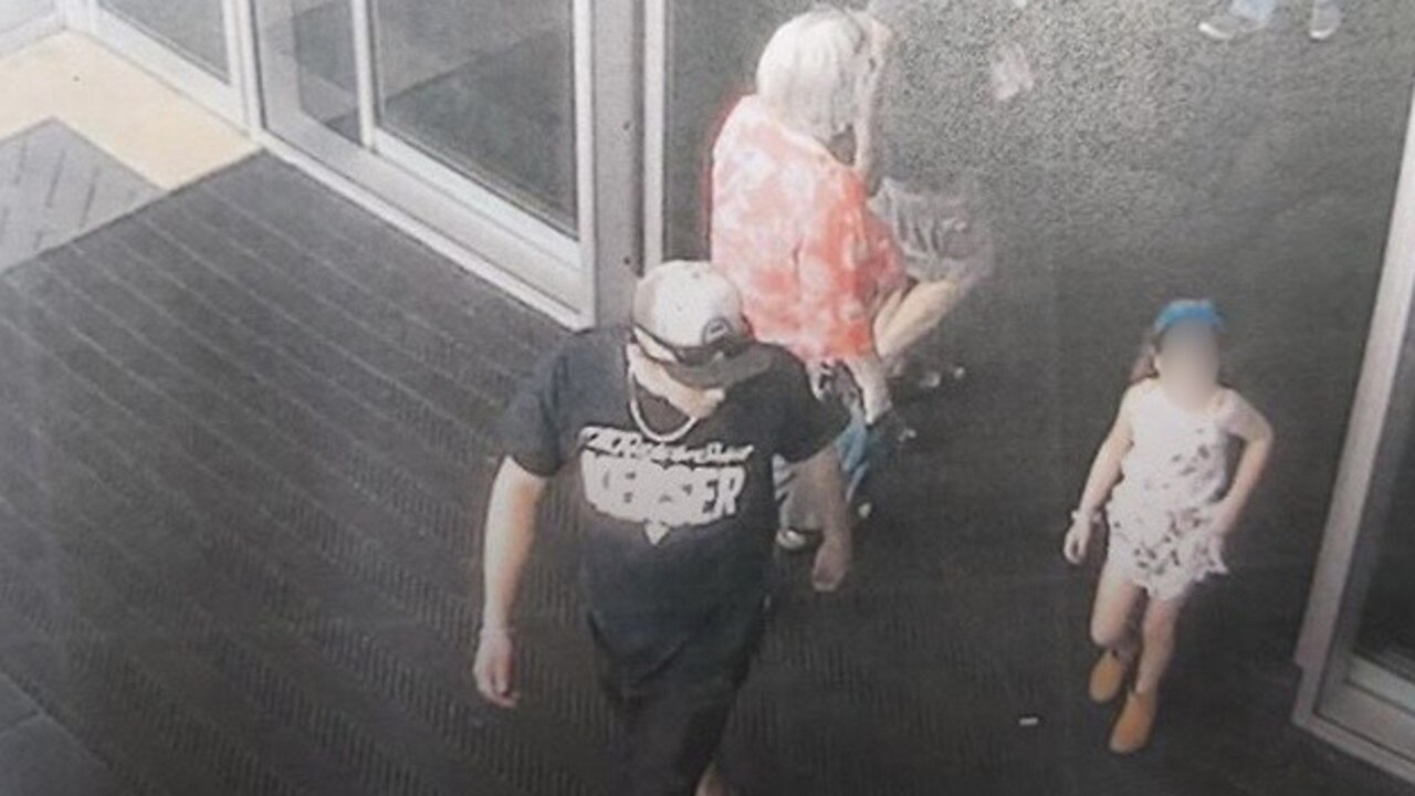 The girl was taken from a store in Brisbane last December during Christmas shopping.
