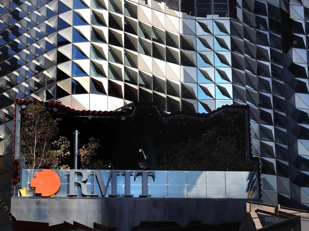 Montalto behaved inappropriately towards a female student while in his RMIT office.
