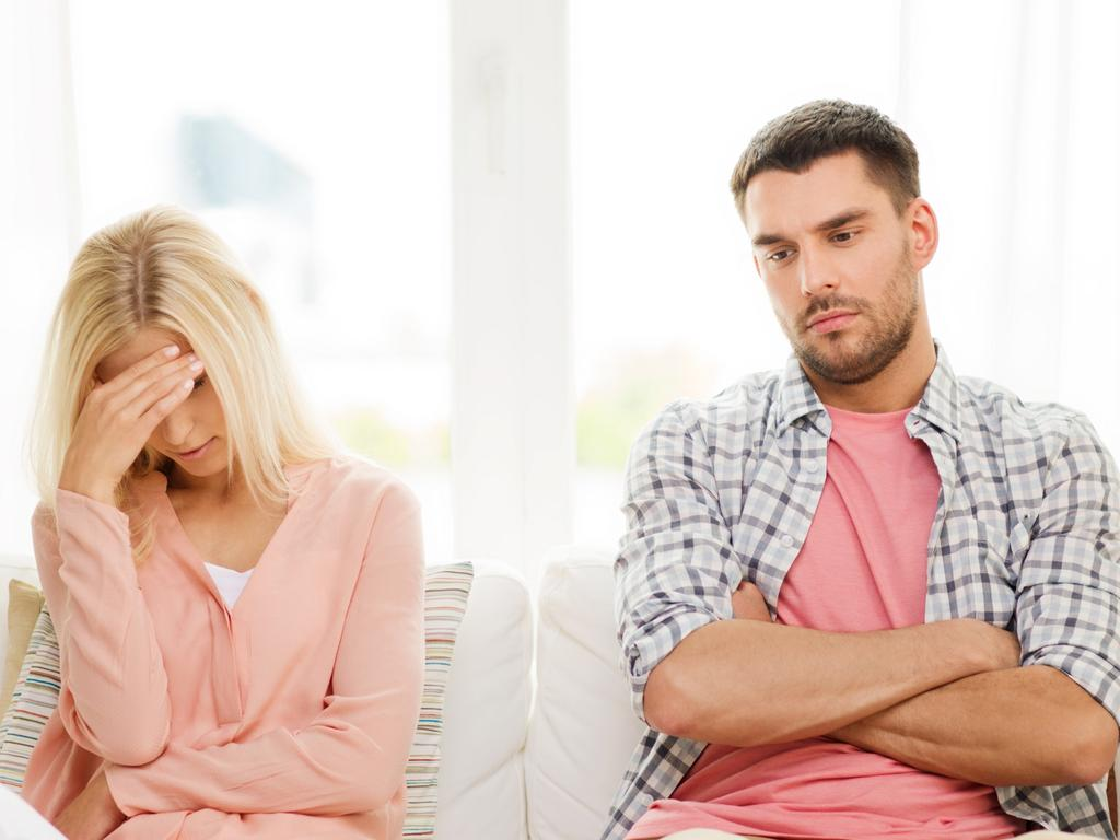 Unhappy days. Being single is much better for your health and mental well being than staying in an unhappy or toxic relationship. Picture: iStock.