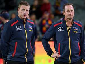 Adelaide crows complete savage clean-out