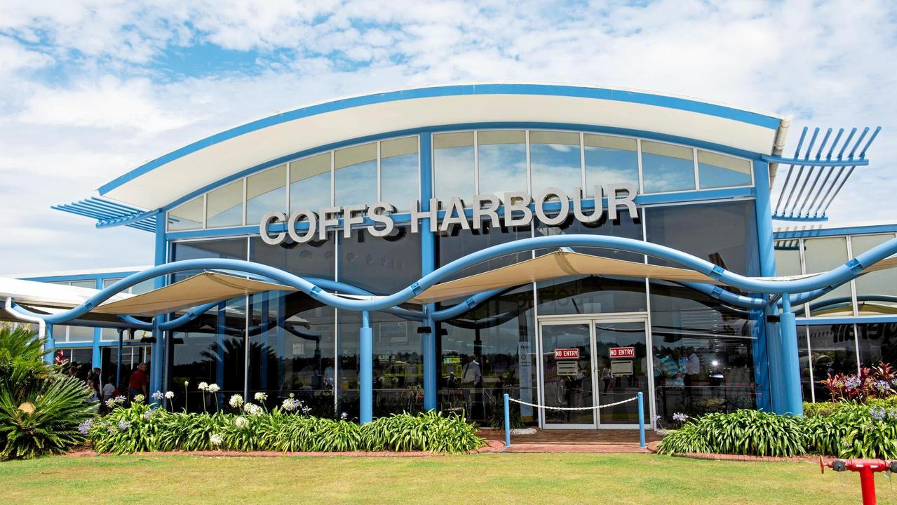 The Coffs Harbour Airport terminal.